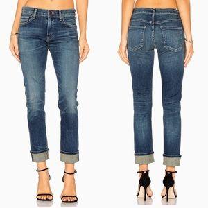 COH Jazmin Ankle Slim Straight Cuffed Jeans
